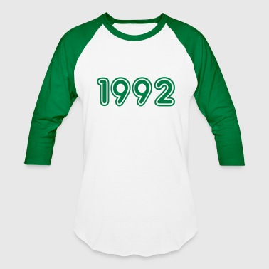 1992 Year 1992, Numbers, Year, Year Of Birth - Baseball T-Shirt