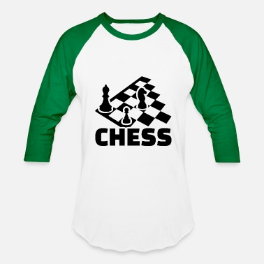 Chess Board chess boards - Baseball T-Shirt