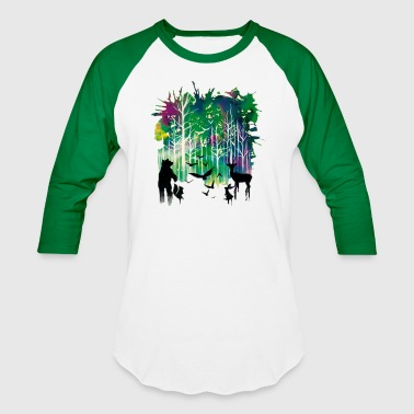 Wildlife - Baseball T-Shirt