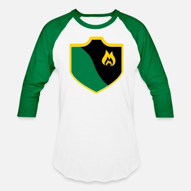 Clash Of Clans Clash With Your Clan Shield- 10 - Baseball T-Shirt