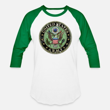 Us Seal Worn US Army Seal - Unisex Baseball T-Shirt