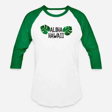 Hawaii Party Aloha Hawaii - Unisex Baseball T-Shirt