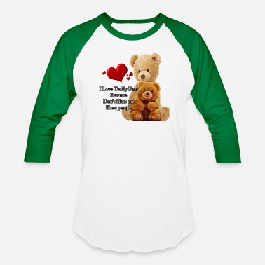 Teddy Teddy bear design - Unisex Baseball T-Shirt