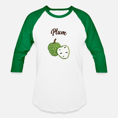 Plum Plum - Baseball T-Shirt