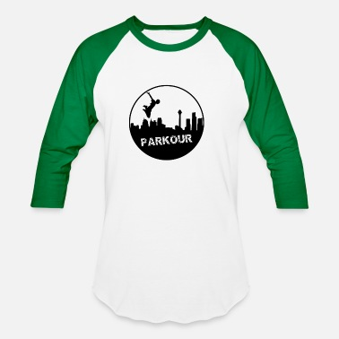 Parkour City Sport Parkour in the city - Baseball T-Shirt