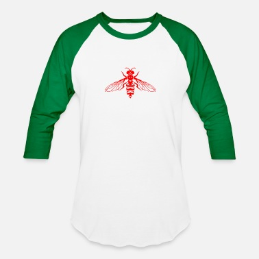 Fly Insect Fly Insects - Unisex Baseball T-Shirt