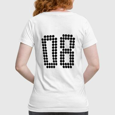 08, Numbers, Football Numbers, Jersey Numbers - Women's Maternity T-Shirt