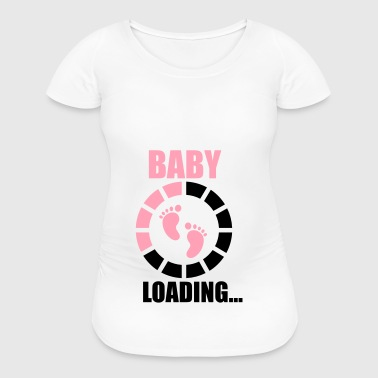 Baba loading - Women's Maternity T-Shirt