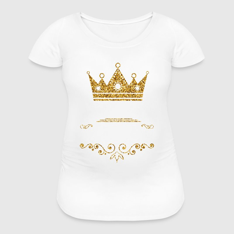 queens are born in august - Women's Maternity T-Shirt