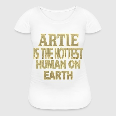 Artie - Women's Maternity T-Shirt