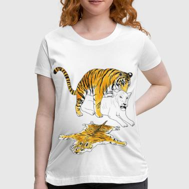 mating wildcats - diversity is fun! - Women's Maternity T-Shirt