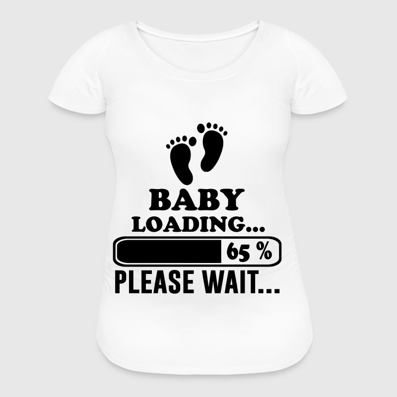 baby loading 2.png - Women's Maternity T-Shirt