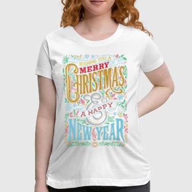 Happy Holidaze - Women's Maternity T-Shirt