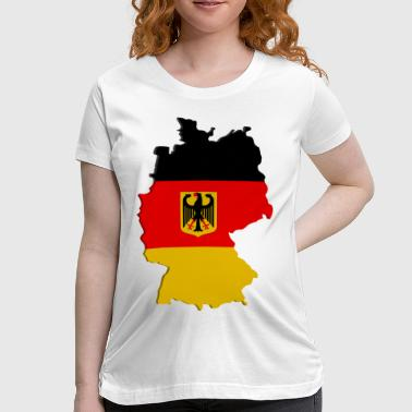 Germany Map Germany map - Women's Maternity T-Shirt