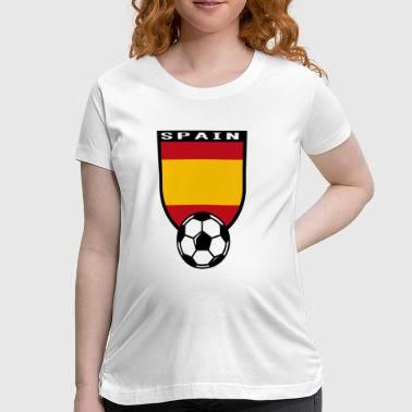 European Football Championship 2016 Spain - Women's Maternity T-Shirt