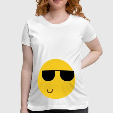 Cool Smiley - Women's Maternity T-Shirt