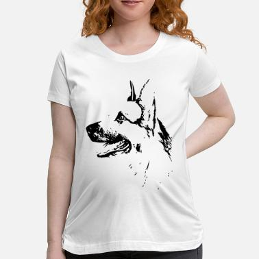 German Dog German Dog - Maternity T-Shirt