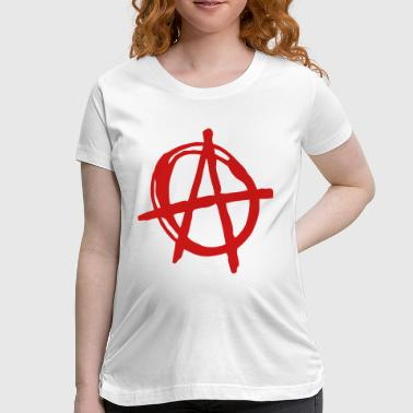 Peace Love Anarchy ANARCHY - Women's Maternity T-Shirt