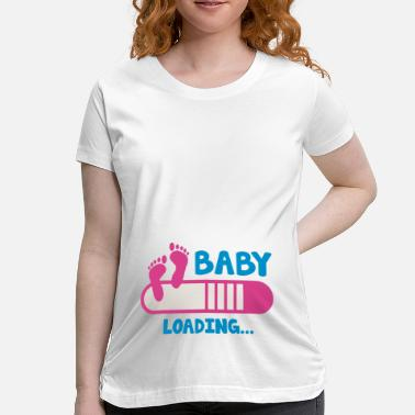 Progress Baby Loading - Maternity T-Shirt