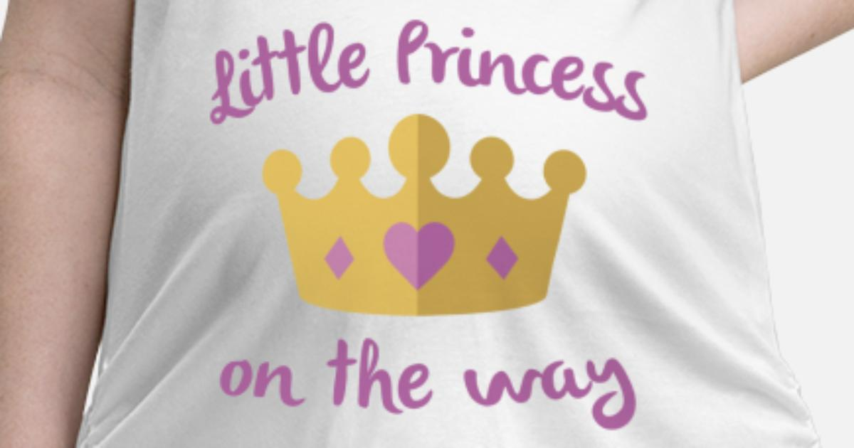 7cdb42ea967ac Little Princess On The Way Maternity T-Shirt | Spreadshirt