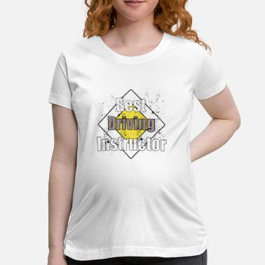 Driving cool driving instructor driving school driving ins - Maternity T-Shirt