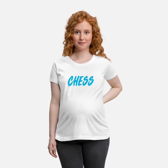 Chess T-Shirts - Chess - Maternity T-Shirt white