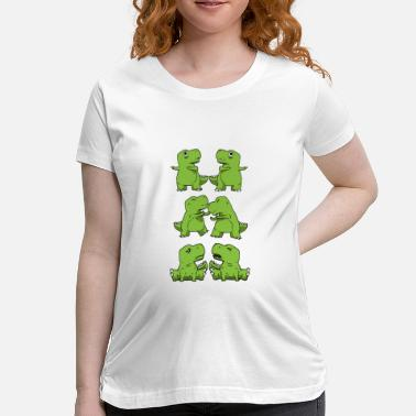Arms Dragon T-Rex Fusion Short Arms Dino Funny Gift - Maternity T-Shirt