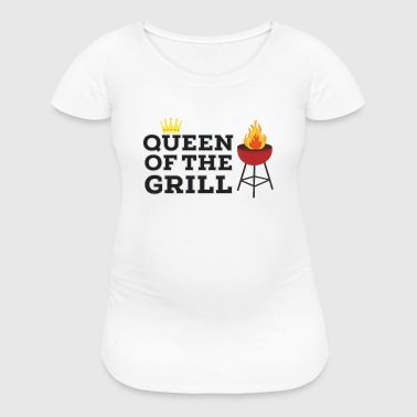 Queen of the grill - Women's Maternity T-Shirt