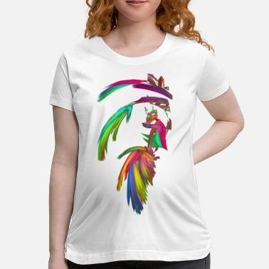 Indian Chief Fractal - Indian Chief - Women's Maternity T-Shirt
