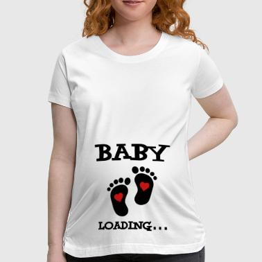 Baby Loading... - Women's Maternity T-Shirt