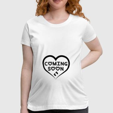 Baby Coming Baby Coming Soon! - Women's Maternity T-Shirt