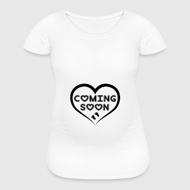 Baby Coming Soon! - Women's Maternity T-Shirt