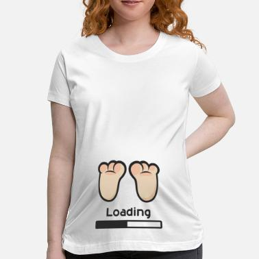 Baby Loading Loading - Women's Maternity T-Shirt