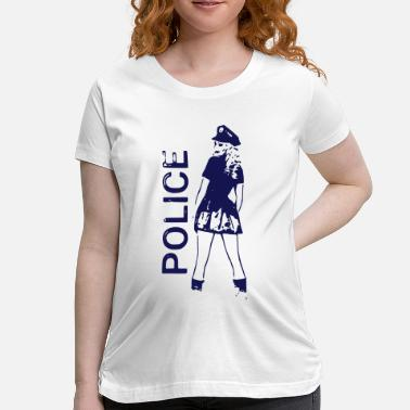 Police State The sexy police girl 2reborn - Maternity T-Shirt
