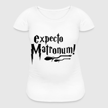 Expecto Matronum! (black) - Women's Maternity T-Shirt