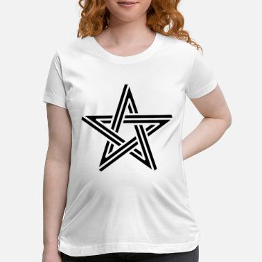 Black Stars Black Star - Maternity T-Shirt
