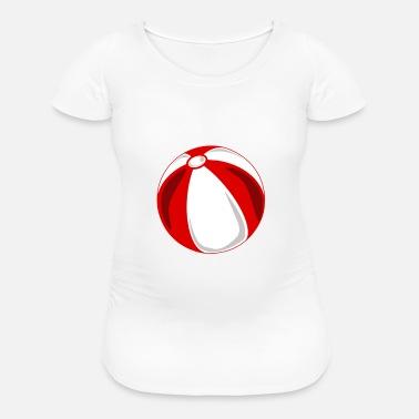 15122f2a3cbee Shop Beachball Maternity T-Shirts online   Spreadshirt