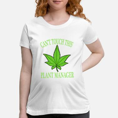 Nicee A Nice Cannabis Tee For High People Can't Touch - Maternity T-Shirt