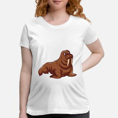 Sea Lion Sea Lion - Maternity T-Shirt