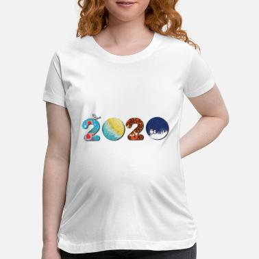 New Year New Year 2020 - Happy new year 2020 - new year - Maternity T-Shirt