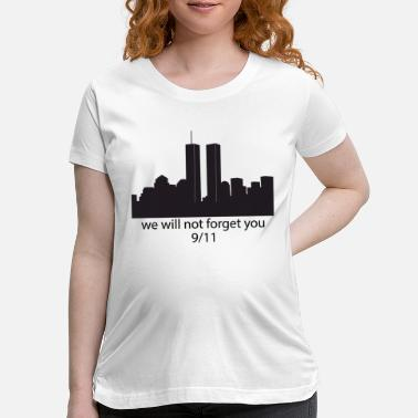 Twin Towers twin towers - Maternity T-Shirt