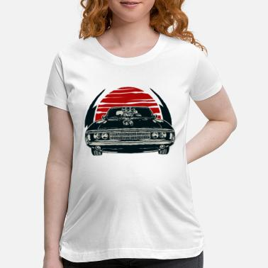 Racing Classic Logo Hotrod Muscle Car Vintage Car Graphic T Shirt for Men