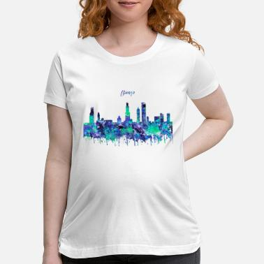 Chicago Chicago, Chicago Illinois - Maternity T-Shirt