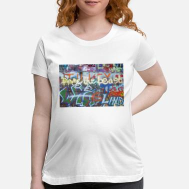 Graffiti4 - Maternity T-Shirt