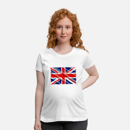 Kingdom T-Shirts - united kingdom - Maternity T-Shirt white