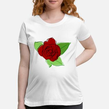 Blume Rose Blume - Maternity T-Shirt