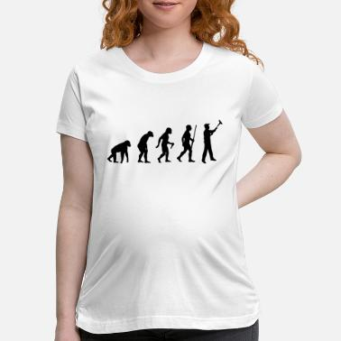 Painter Evolution To Painter - Maternity T-Shirt