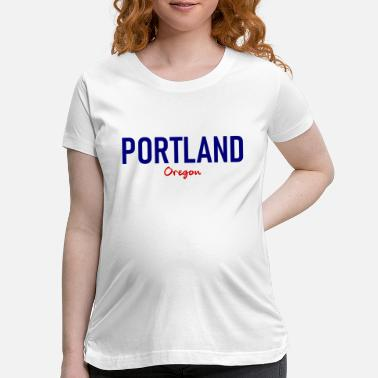 United Portland - Oregon - USA - United States of America - Maternity T-Shirt