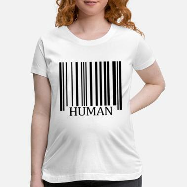 Human Values Human Logo Humanity Beings humankind mankind Man - Maternity T-Shirt