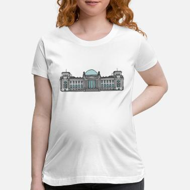Bundestag Reichstag building Berlin - Maternity T-Shirt